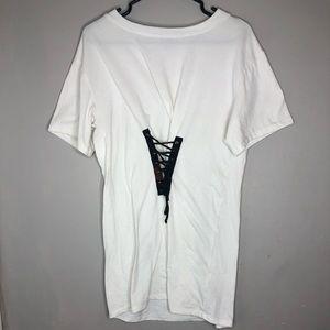 White Tie T-shirt